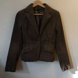 H&M Corduroy Fitted Jacket Size 4